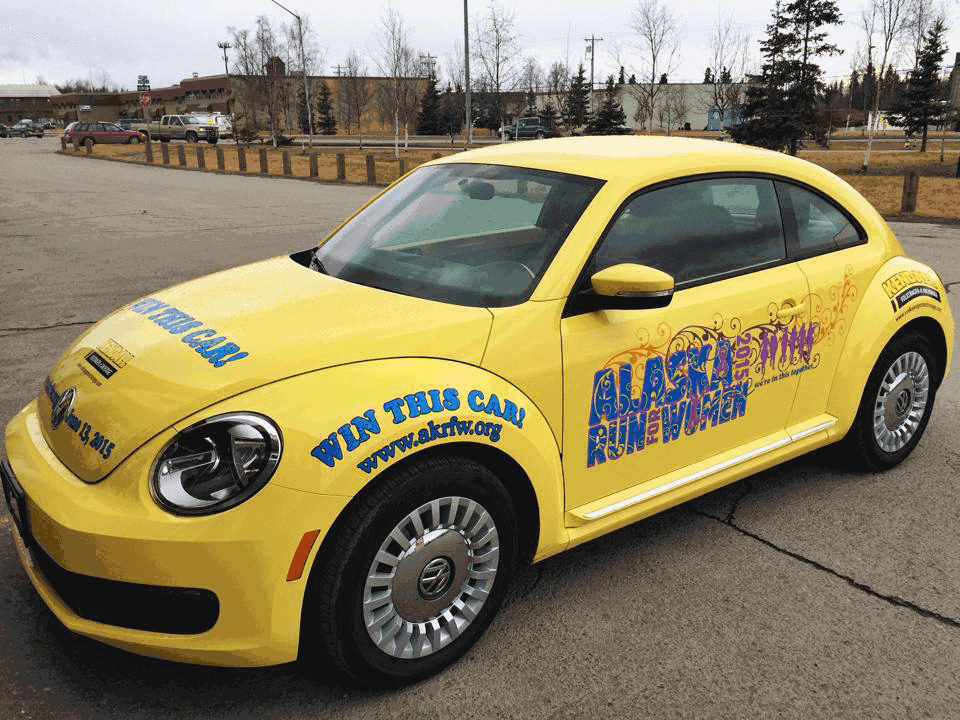 Alaska Run For Women VW Beetle