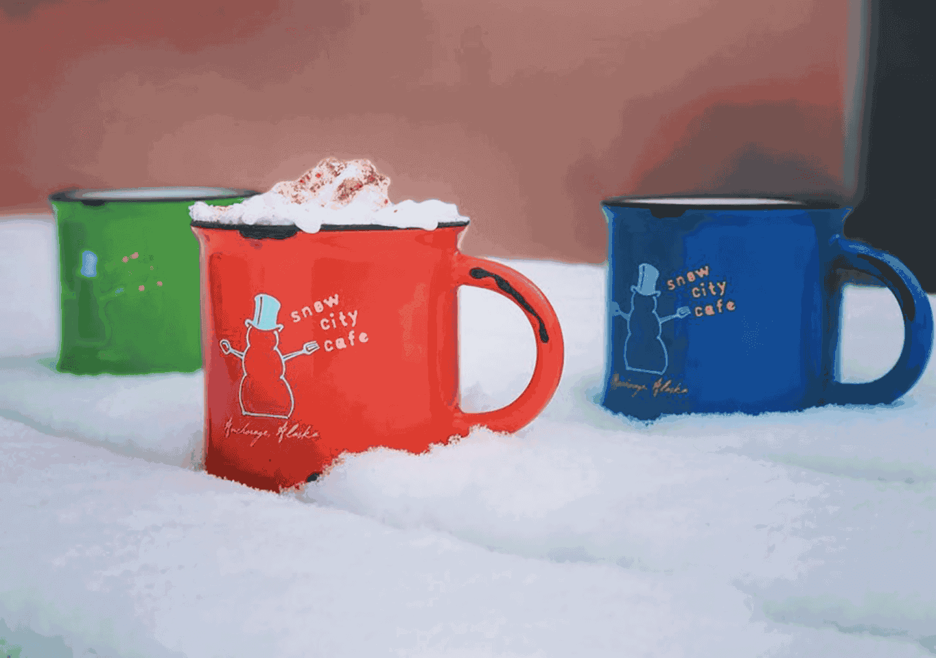Snow City Cafe Mugs