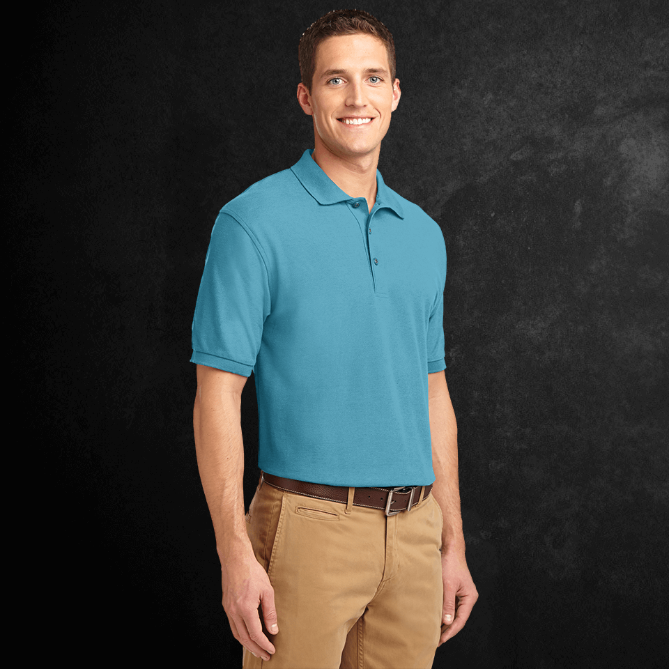 Port & Company Silk Touch Polo